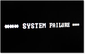 System Failure