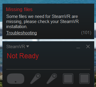 Missing Files SteamVR