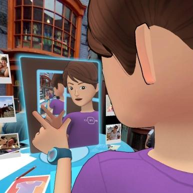 facebook mirror selfie