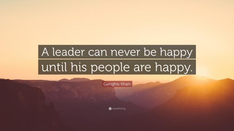 leaderhappy