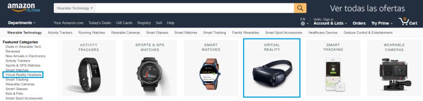 VR on Amazonb