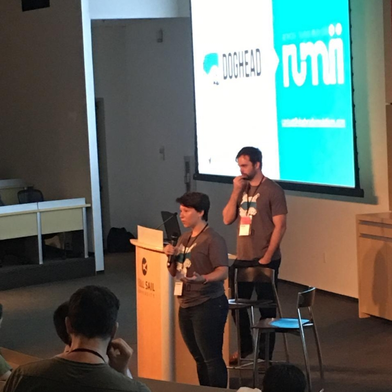 Lily Snyder and Chance Glasco present at OIX17
