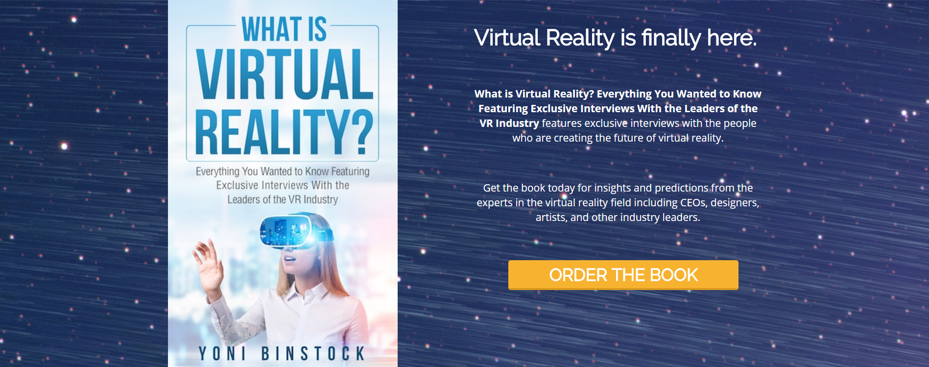 What is Virtual Reality? A Book with All the Answers – Lily