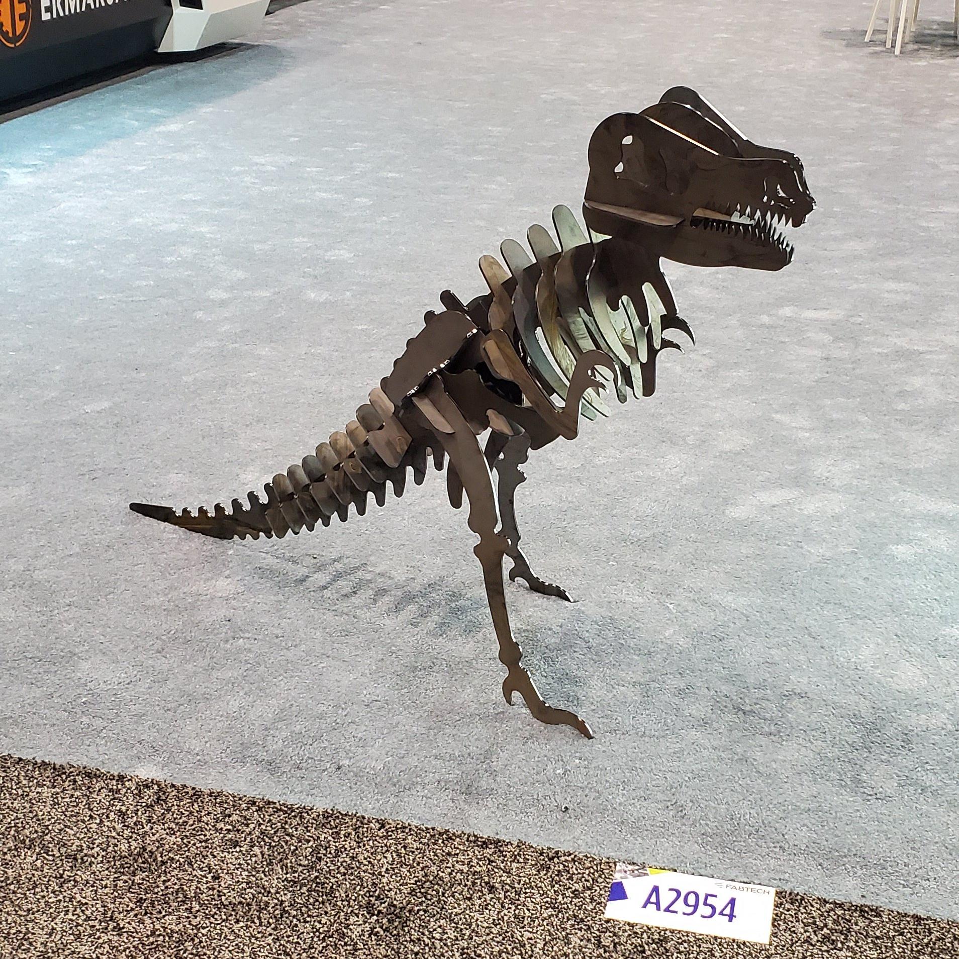 robot dinosaur FABTECH 2019